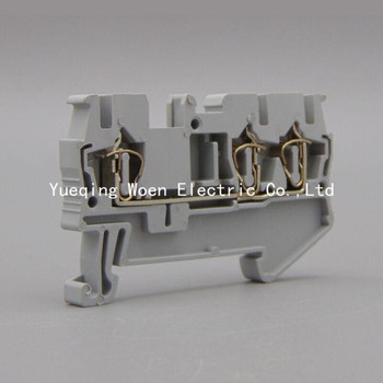 ST2.5-1/2 Spring type wiring terminal ST2.5-1/2 fast terminal one into two