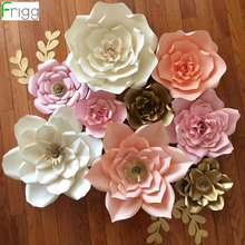 FRIGG 20 30 40 cm Paper Flower Weeding Decoration for Weddings Rustic Wedding Decor Table Event Party Baby Shower