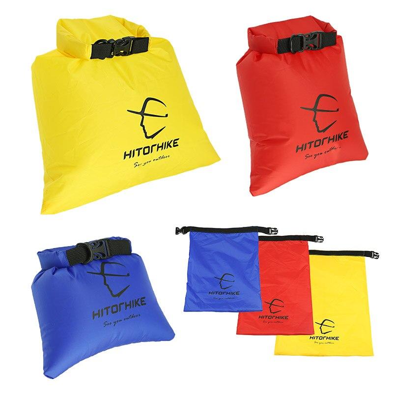 Hitorhike 3L and 5L and 8L 3pcs / set Outdoor Folding Ultralight Rafting Storage Waterproof Dry Bag Waterproof Drifting Bag 2017