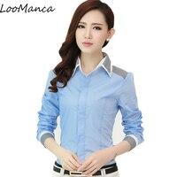 Fashion Ladies Office Shirts 2017 New Women OL Style Shirt Work Wear Korean Elegant Woman Blouse