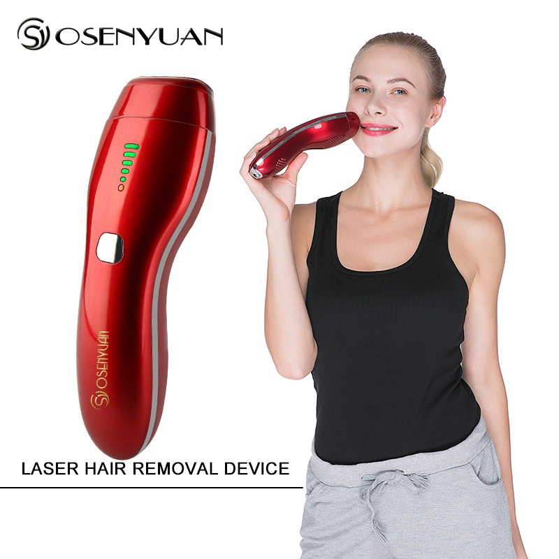 IPL 3in1 Depilador a Laser Hair Removal Machine Hair Remover Lipstick Shape Hair Razor USB Recharge Electric Lazer Epilasyon in Epilators from Home Appliances