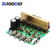 Subwoofer Audio Amplifier Board 2.1 Channel 240W High Power Amplifiers Board Dual AC18-24V DIY Stereo AMP For HIFI Home Speaker mm amplifier board pcba turntables phono amp opa2111kp germany dual circuit attenuated riaa purple 35v version hifi diy c2 003