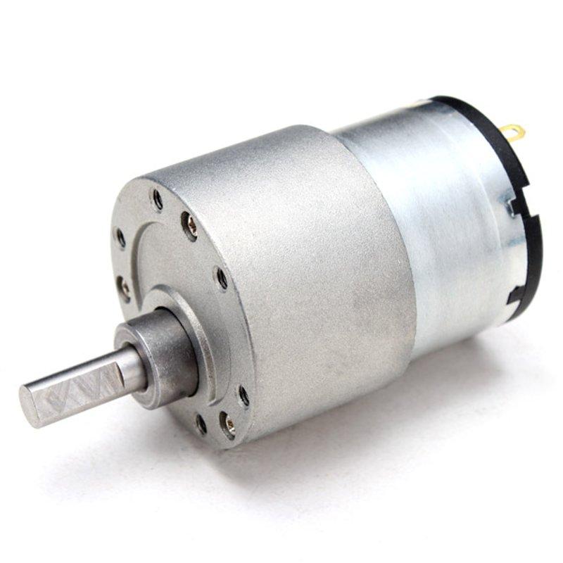 Работающего на постоянном токе 12 В в металла Шестерни редуктор Мотор моментоемкий DC Шестерни редуктор скорости для продвижения