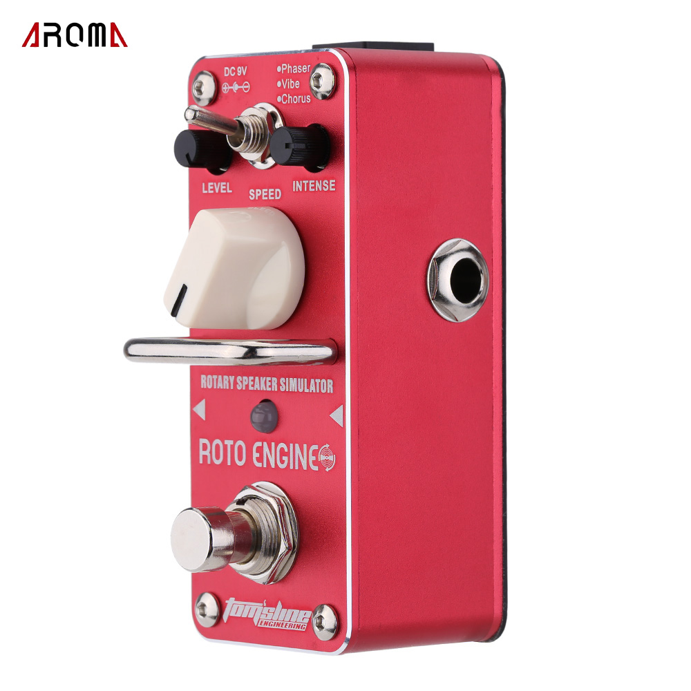 AROMA ARE 3 Guitar Effect Pedal Roto Engine Rotary Speaker Simulator Mini Single Electric Guitar Effect
