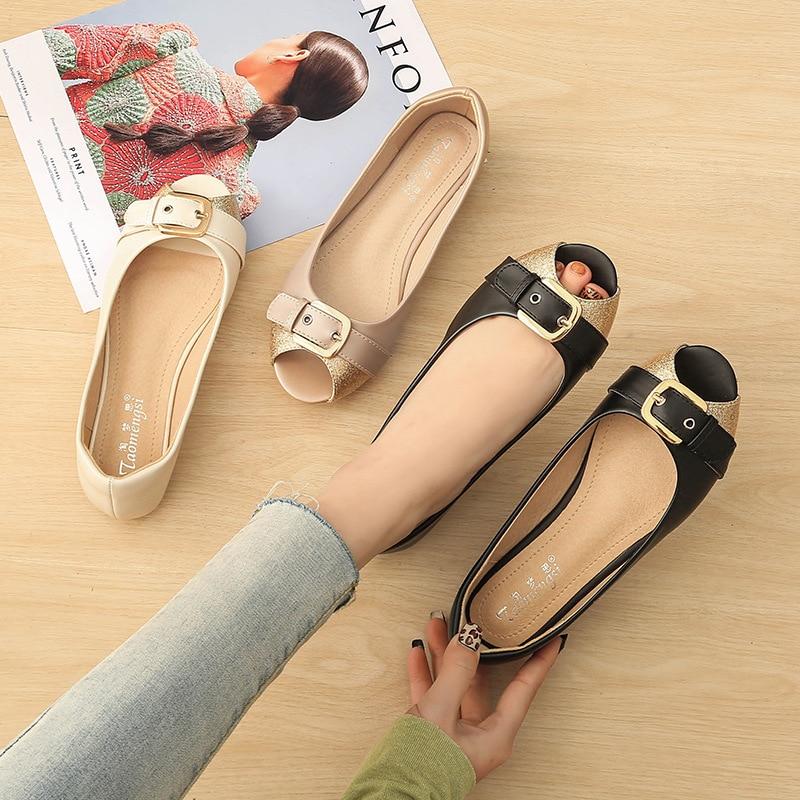 Summer Footwear Women Flats Boat Shoes