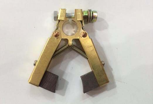 6*12*60(L)mm carbon Brush holder Scissors Double foot type for Motor power Tool