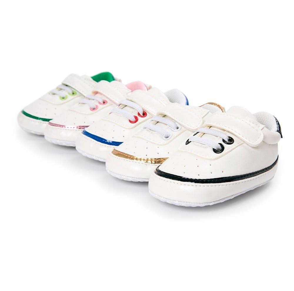 Pięć kolorów Moda PU Skórzane buty dziecięce Mokasyny Noworodek - Buty dziecięce - Zdjęcie 4
