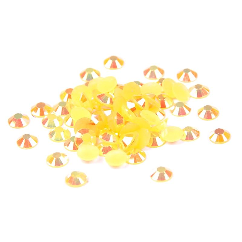 Resin Rhinestones Orange AB 2mm 2.5mm 3mm 4 mm 5mm 6mm 1000-10000pcs Glitter Imitation Glue On Craft Beads DIY Nails Accessories realflame 10000 ab дровник