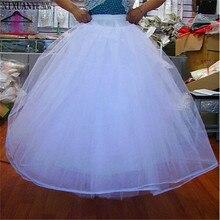 Фатиновые Бальные платья без обруча 4 слоя Свадебное платье подъюбник Свадебный подъюбник кринолин свадебные аксессуары