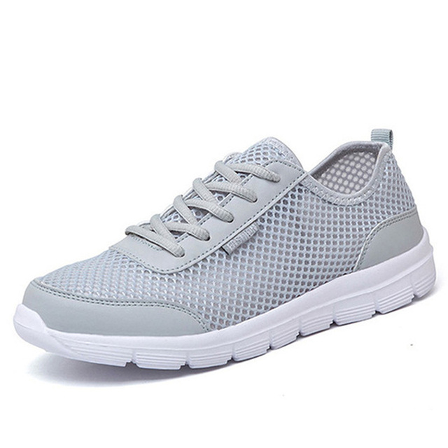 Men s Sneakers Shoes Summer Platform Run Shoes male Breathable Beach  Running Shoes For Men 8e1c5bd05
