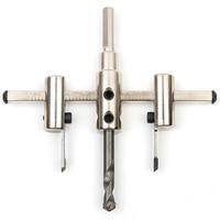 40mm 120mm 200mm 300mm Adjustable Wood Woodworking Aluminum Plate Gypsum Board Sound Lamp Core Drill Bit