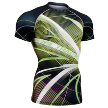 green leaf plant printing mens shirt slim fit all over printing clothing for sports weight lifting gym fitness