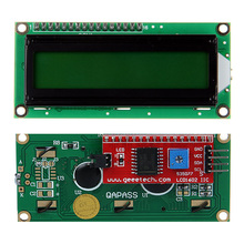 Serial Interface IIC I2C TWI 1602 16 2 Character LCD display Module for font b Arduino