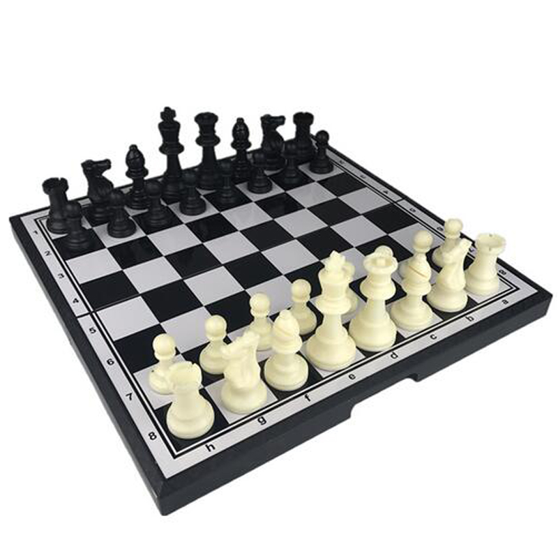 Constructive Creative Plastic Magnetie Chess Chess Magnetic Board Game Entertainment Chess Pieces Christmas Birthday Gift Toy 3.2*19.5cm With The Best Service