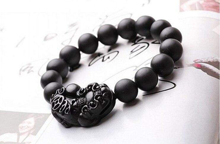 Bian Shi Beaded Stretch Bracelets,Bianchi Bracelet Needle Massage Healthcare For Body Brave Troops Bracelets Amulets