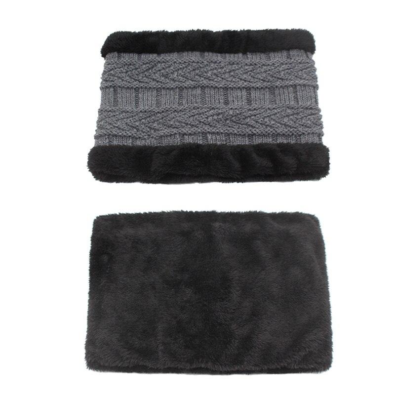 YOUBOME Skullies Beanies Winter Hats For Men Beany Knitted Hat Women Male Gorras Warm Soft Neck Balaclava Bonnet Beanie Hat Cap 5
