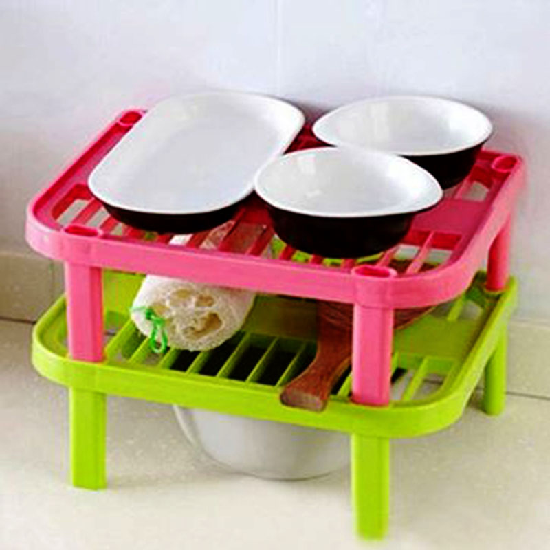kitchen plate organizer silicone dish rack sink shelf sink in plate 2444
