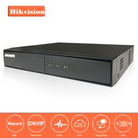 HiK 4K English Version H 265 NVR 4CH DS 7604NI K1 Embedded 4K NVR Support H