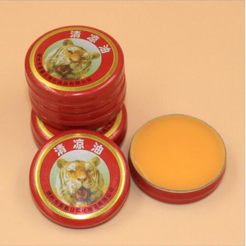 20pcs/lot Chinese Tiger Muscle Massager Relax Essential Oil Magic Balm Refresh Influenza Treatment Headache Dizziness MR008