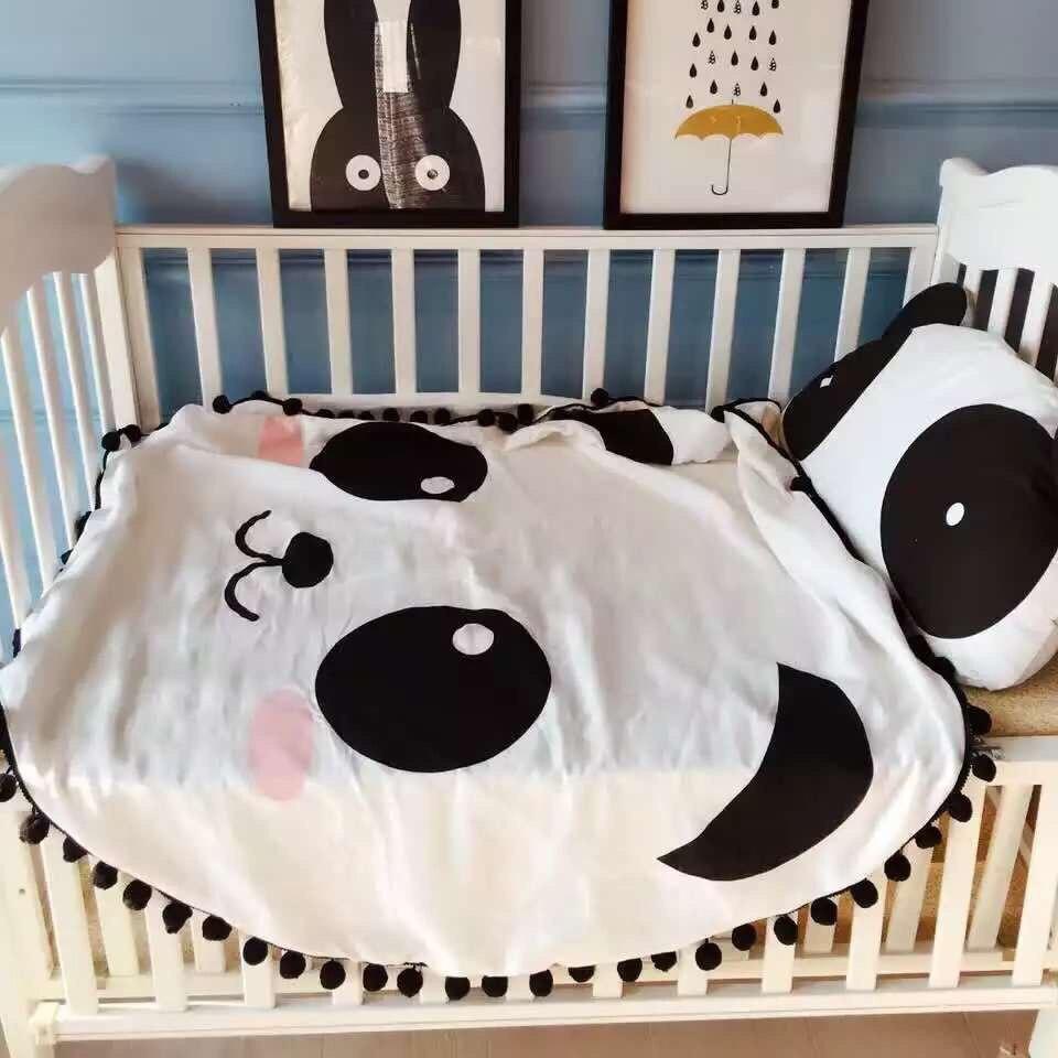 Panda Crib Bedding