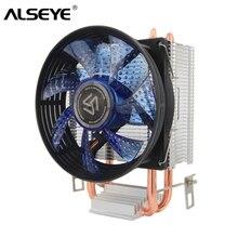 ALSEYE radiateur refroidisseur de processeur 2, 90mm ventilateur CPU, pour Intel LGA 775/1151/1155/et AMD FM2/FM1/AM3/AM2