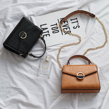 Fashion Women Crossbody Bag Brown Handbag Small Flap Bags Simple Lady Shoulder Purse Messenger Bags For Women 2019 Sac Main Femm