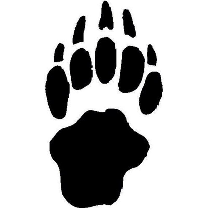 Картинки следы медведя, день учителя