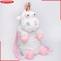 50CM Lovely Unicorn Bag Plush Unicorns Toy Plush Backpack Stuffed Animals Plush Doll Gift For Kids