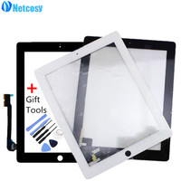 Touch Screen Digitizer Front Touch Panel Glass For IPad 2 3 4 TouchScreen Replacement Spare Part