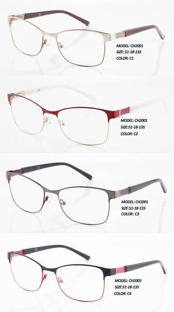 babb12b88d4 placeholder Eye Wonder Wholesale Men Metal Eyes Glasses Frames Lunettes  Gafas Oculos de grau Women Stainless steel