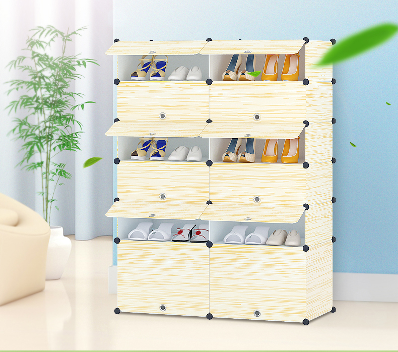 Big Size Simple DIY Shoe Rack Creative Modern Multi Purpose Shoe Cabinet  Home Furniture Storage Part 76