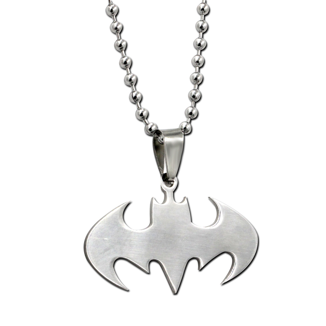 Batman Logo Necklace (stainless steel)