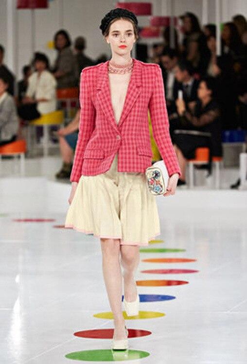 Здесь продается  Ky&Q 2017 New Elegant Red Sweet Wool Coat Jacket Women 2017 Runway Long Sleeve Striped Slim Female Outwear Warm Jackets Clothing  Одежда и аксессуары