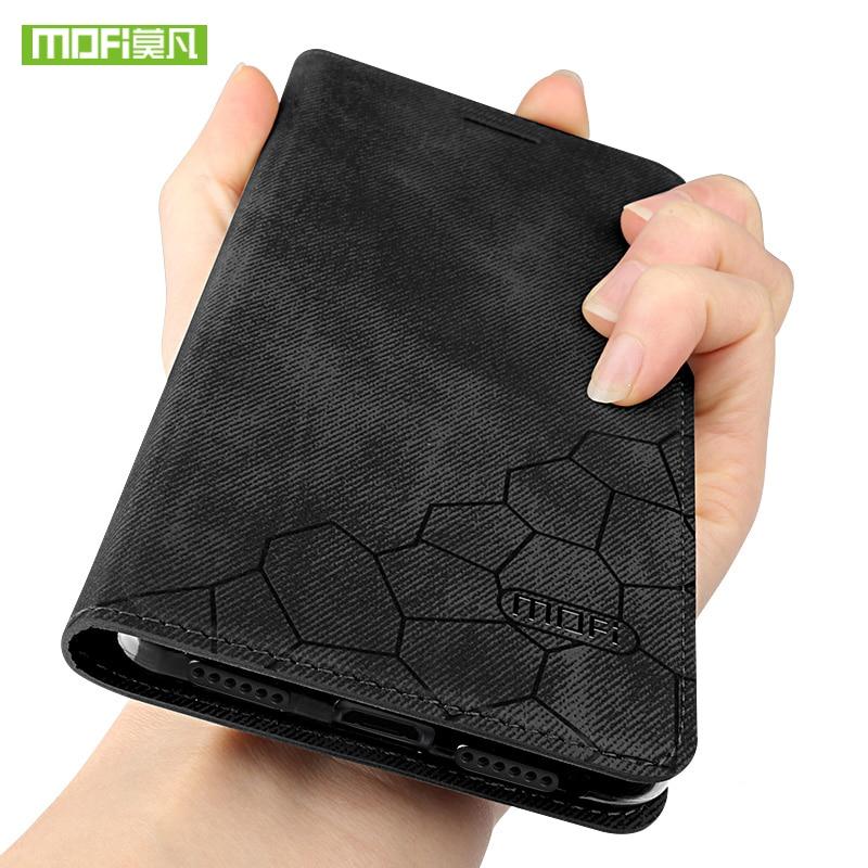 For xiaomi redmi 5 plus case for xiaomi redmi 5 case Mofi cover silicone canvas luxury PU leather for xiaomi redmi 5 plus fundas
