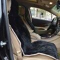 1 pc assento de carro capa de pele real acessórios interior do carro 1.6 altura de lã comumente usado carro styling cor branca e cor preta