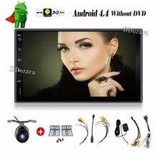 Universal 2 din Android 6.0 Coches reproductor de DVD GPS + Wifi + Bluetooth + Radio + quad core CPU + DDR3 + Pantalla Táctil Capacitiva + 3G + pc del coche + aduio
