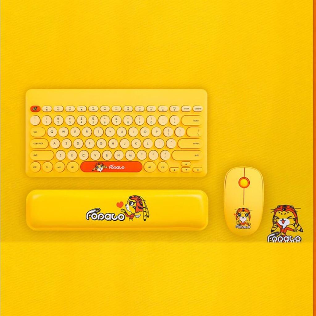 LK586 Mini souris et clavier ensemble home 2.4G technologie sans fil 20 mètres de gamme Gamer jeu souris et clavier Kit Home Office