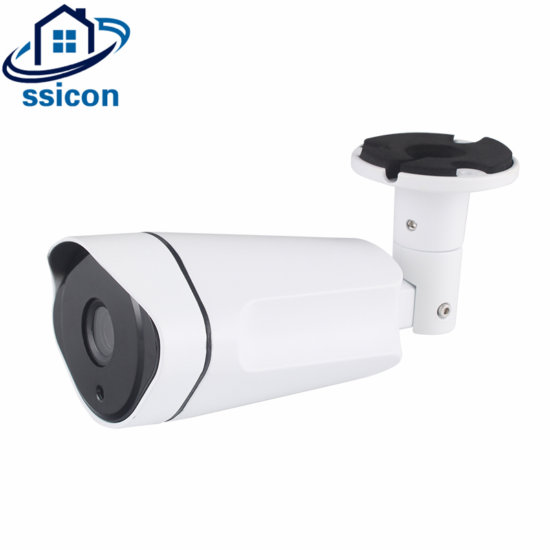 SSICON New Bullet Housing 3.6mm Lens H.265 CCTV IP Camera 36Pcs Leds IR Distance 30M 4MP Night Vision P2P Onvif IP Camera wistino cctv camera metal housing outdoor use waterproof bullet casing for ip camera hot sale white color cover case