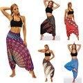 2021, штаны для йоги, женские повседневные летние свободные штаны для йоги, мешковатый комбинезон в стиле бохо, Аладдин, брюки-султанки, спорти...