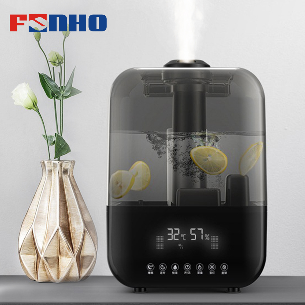FUNHO 5L Large Capacity Remote Control Air Humidifier Timing Comfort Humidify Purifier Essential Oil Fruit Floral Mist MakerFUNHO 5L Large Capacity Remote Control Air Humidifier Timing Comfort Humidify Purifier Essential Oil Fruit Floral Mist Maker