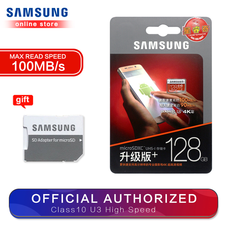 Image 5 - SAMSUNG Memory Card Micro SD 256GB 32GB 64GB 128GB 512G SDHC SDXC Grade EVOplus Class 10 C10 UHS TF SD Cards Trans Flash Microsd-in Micro SD Cards from Computer & Office
