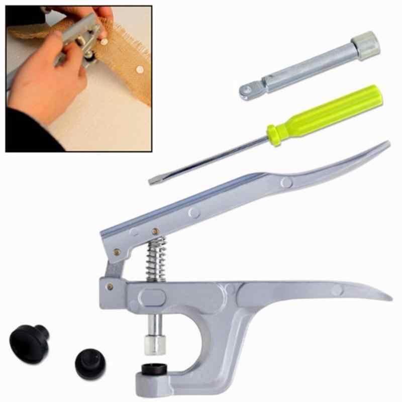 1 набор металлических пресс-плоскогубцев инструменты, используемые для T3 T5 T8 Kam кнопки крепления плоскогубцы + 150 Набор T5 пластиковые смолы Пресс Стад ткань пеленки