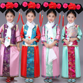 Children Chinese Traditional Costume Kids Qing Dynasty Dance Costume Girl Chinese Princess Clothing  Stage Ancient Clothes 89