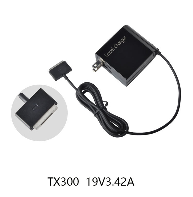 65W 19V 3.42A AC laptop Power Supply Wall Charger Cable Plug Adapter For ASUS Transformer Book TX300 TX300K TX300CA Tablet