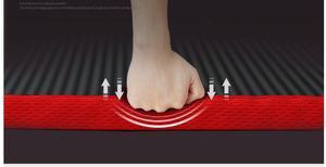 Image 2 - 10MM Extra spessi 183cmX61cm NRB tappetini yoga antiscivolo per Fitness Pilates insapore palestra cuscinetti per esercizi con bende