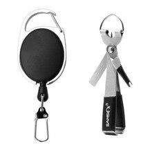 SAMSFX рыболовное быстрое завязывание узлов, инструмент для быстрой завязывания ногтей, инструмент для завязывания мушек, леска, резак, кусачки w/Zinger, втягивающее устройство, снасти, аксессуары