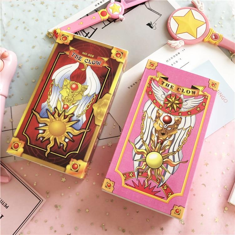 56 stücke Anime Cosplay Karte Captor Sakura KINOMOTO Clow Karten Tarot