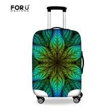 Stilvolle Elastischen Gepäckraumabdeckung Frauen Reisen Zubehör mit reißverschluss für 18-28 zoll Koffer Fashion Staubdicht Gepäck Abdeckungen