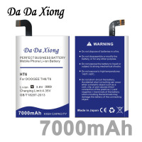 Da Da Xiong 7000mAh HT6 Battery For Ulefone Power For DOOGEE T6 Oukitel K6000 Phone In