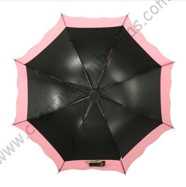 6 pc lote opção de cor verão dobrável mini ensolarado guarda chuva 5 vezes  revestimento preto Anti UV carne de rosa duas camadas lace parasol em Guarda-sóis  ... 8d057e0fe0